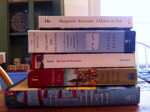 A partial reading list for Novel #3.