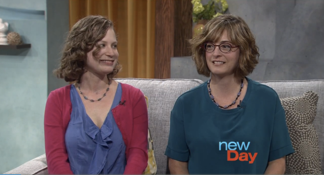 With Erin Malone on King 5's morning show New Day Northwest, hosted by Margaret Larson