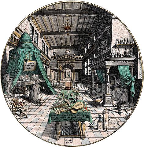 471px-Amphitheatrum_sapientiae_aeternae_-_Alchemist's_Laboratory