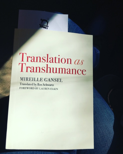 Translation as Transhumance by Mireille Gansel